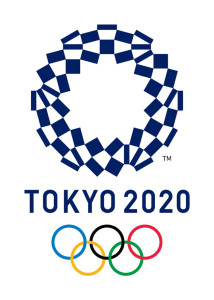 This image released Monday, April 25, 2016 by The Tokyo Organising Committee of the Olympic and Paralympic Games shows the new official logo of the 2020 Tokyo Olympics. Organizers unveiled the new official logo of the 2020 Tokyo Olympics on Monday, April 25, opting for blue and white simplicity over more colorful designs. The winning logo, selected from four finalists, is entitled Harmonized Checkered Emblem. It features three varieties of indigo blue rectangular shapes to represent different countries, cultures and ways of thinking. (The Tokyo Organising Committee of the Olympic and Paralympic Games via AP)