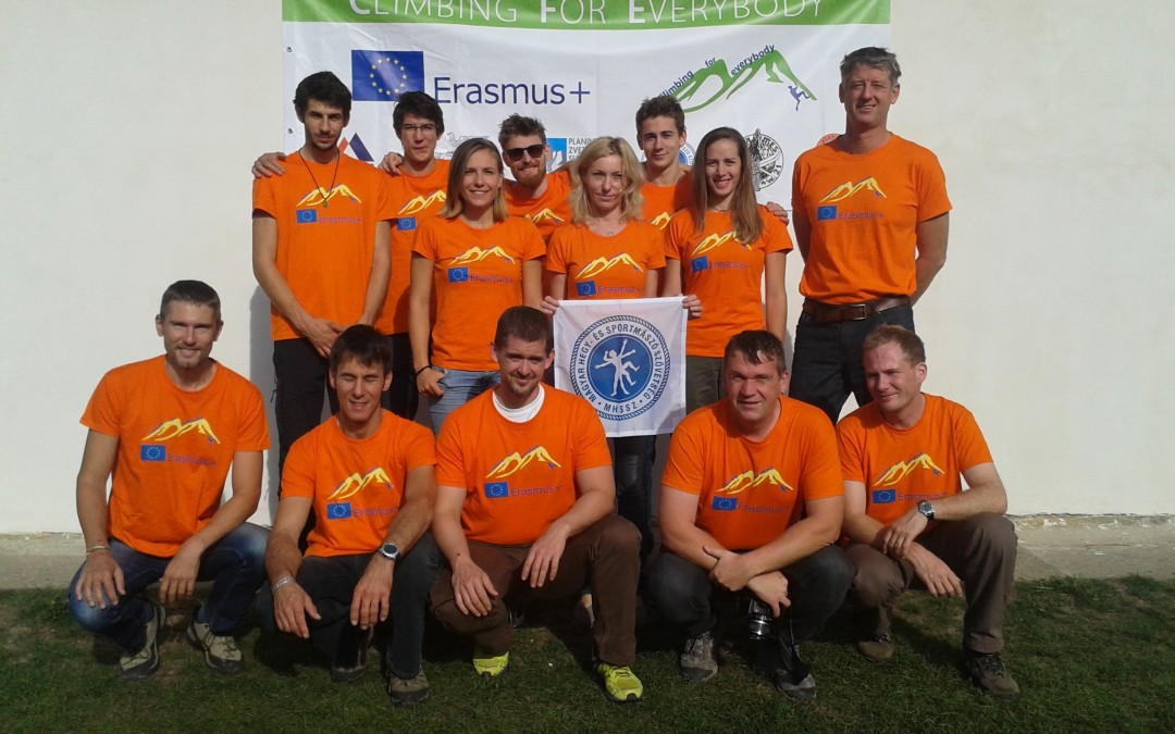 "Erasmus+ ""Climbing for Everybody"" projekt"